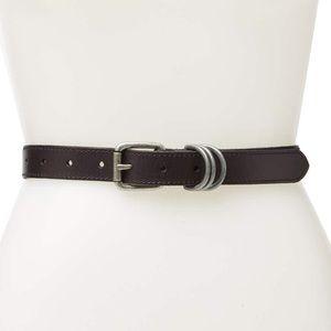 New Frye leather belt size Medium